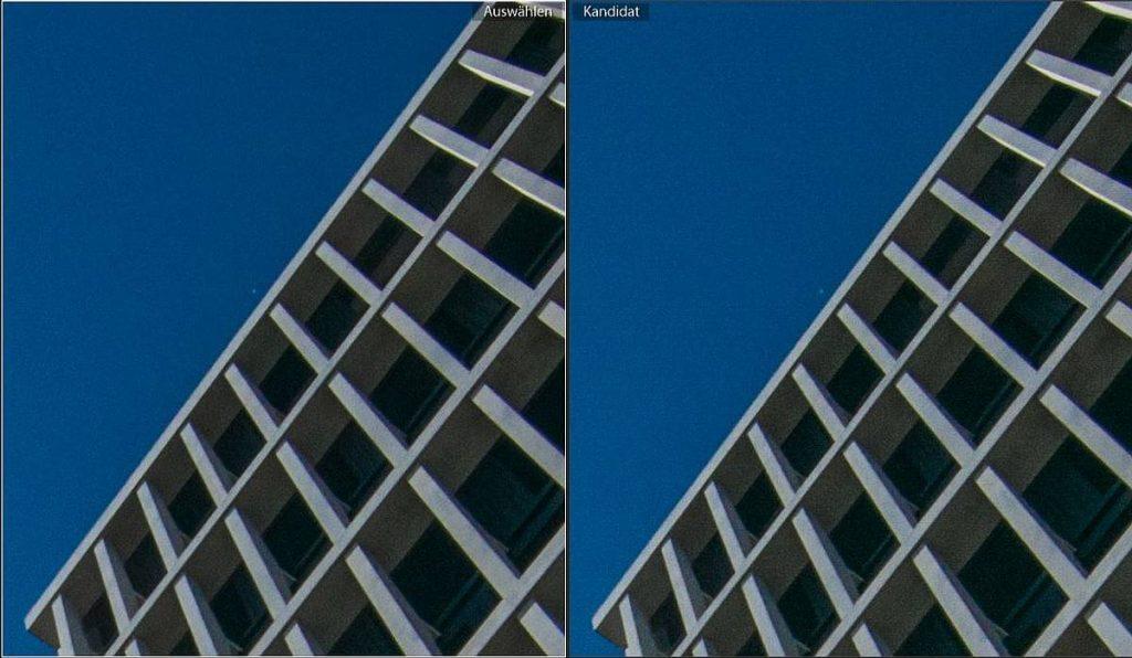 1:1-Ansicht-Original links - rechts verlustreich DNG