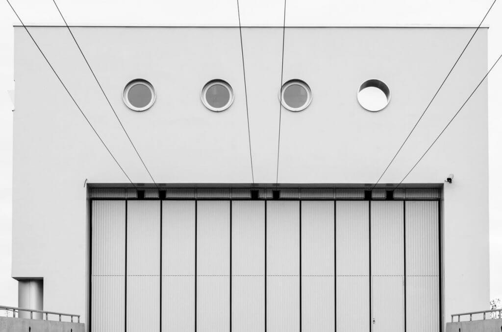 High-Key-Aufnahme Busdebot St. Gallen