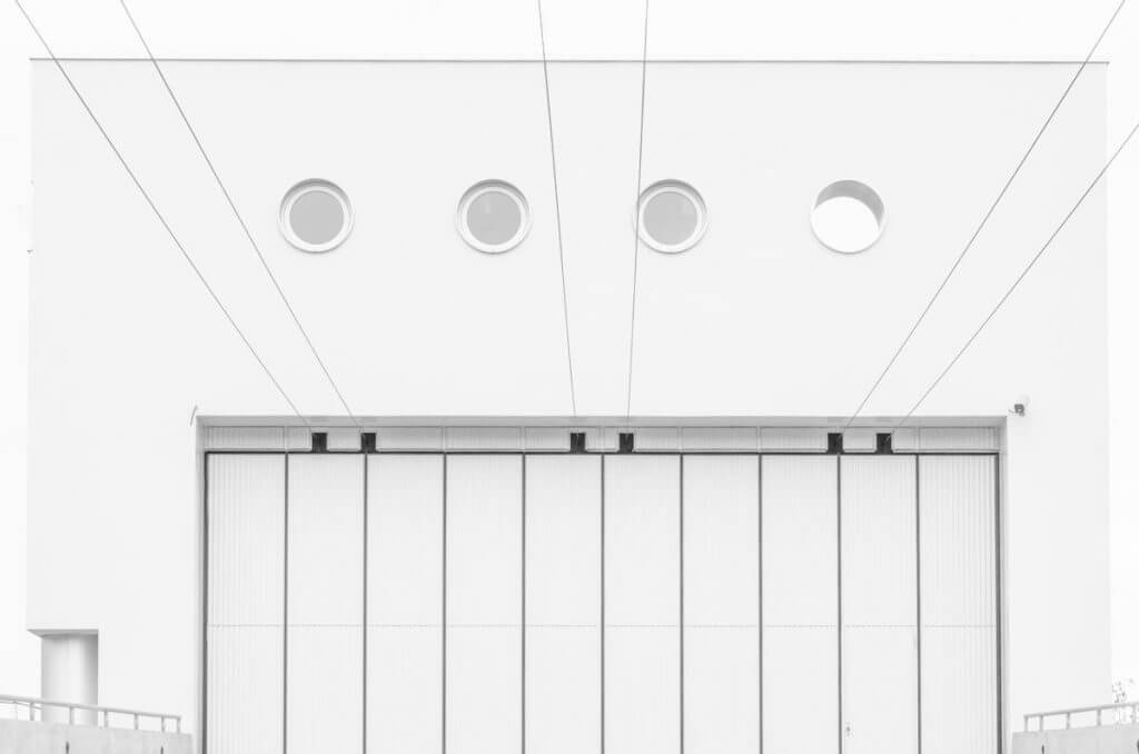 Portal Busdepot St. Gallen - Architektur-Fotografie