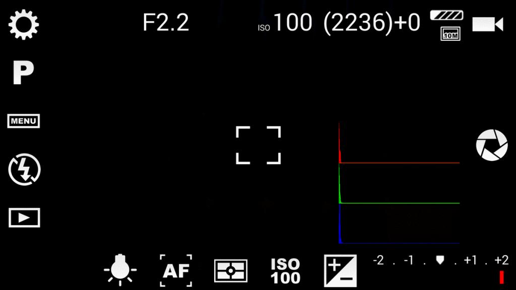 Anleitung Camera FV 5 App für Smartphones Android
