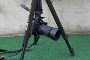 Kamera unter Mittelsäule montiert