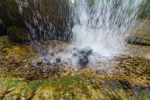 Langzeitbelichtung am Wasser mit 1/90s Verschlusszeit