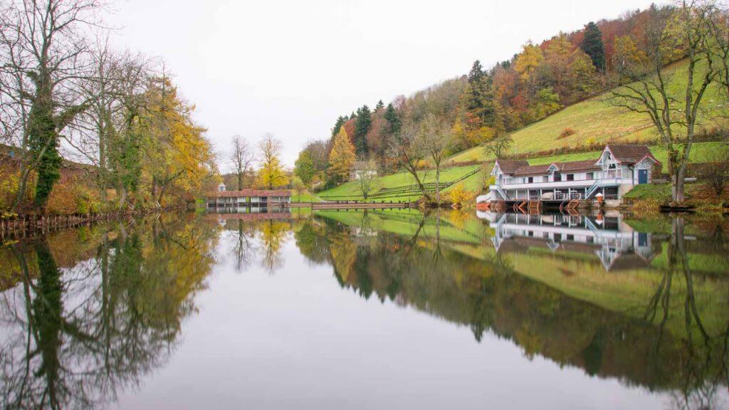 Langzeitbelichtungen an den drei Weiern in St. Gallen