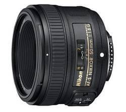 AF-S FX NIKKOR 50mm f/1.8G Normalobjektive