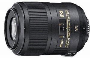 Nikkor Micro f/3.5 85mm Makroobjektiv für Halbformat
