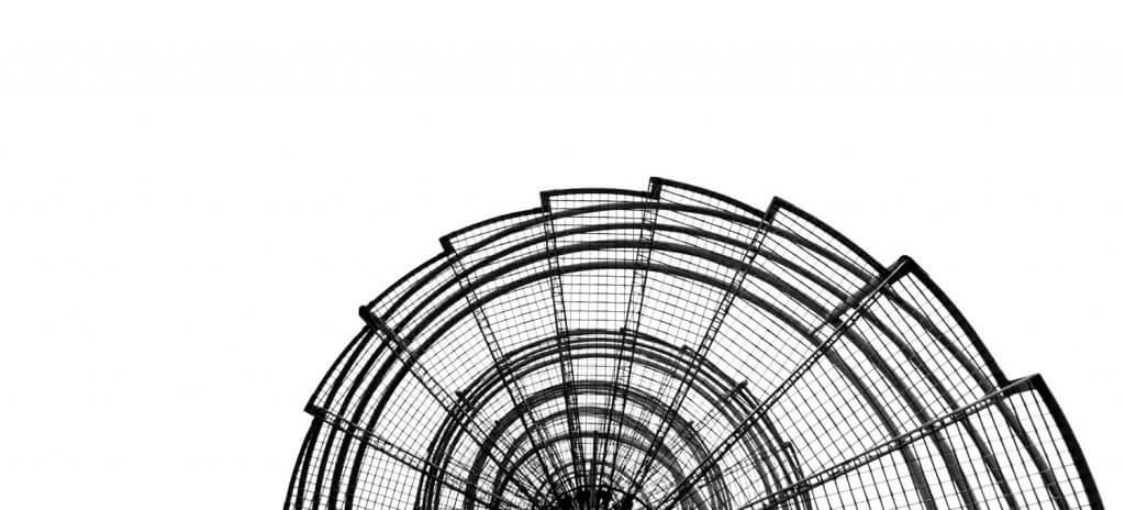 Nottreppe an Geschäftshaus - Architekturdetails herausarbeiten