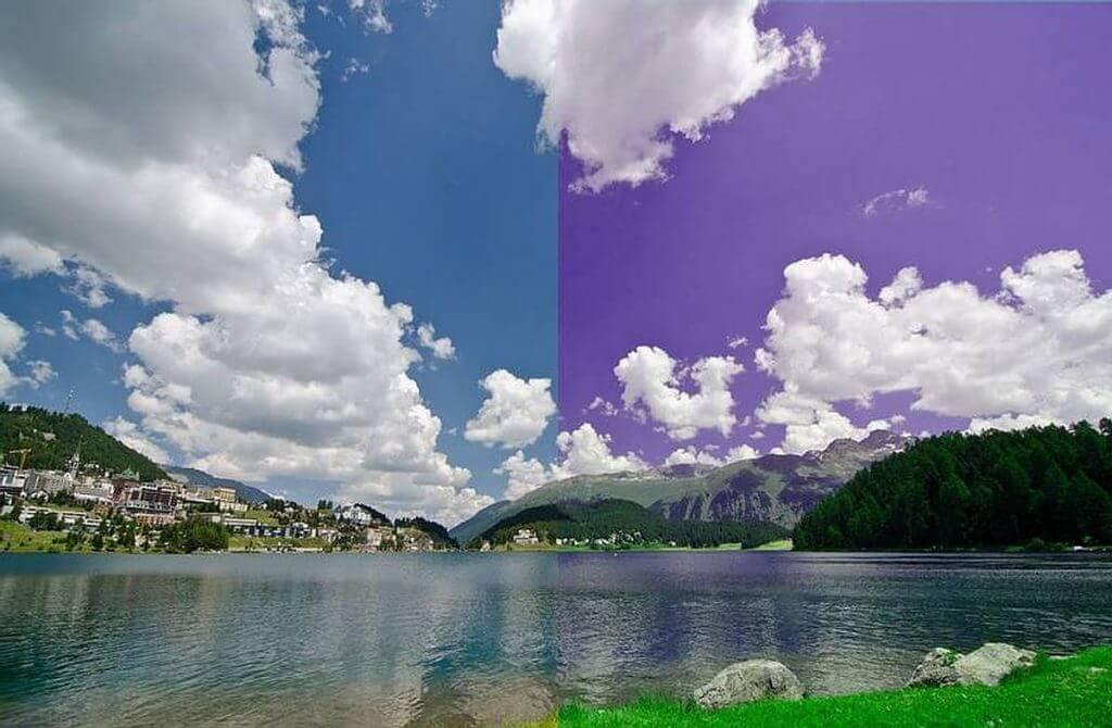 Auswirkung des Weissabgleiches auf Digitalbilder