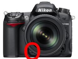 Abblenden - Abblendtaste an einer Nikon D7000
