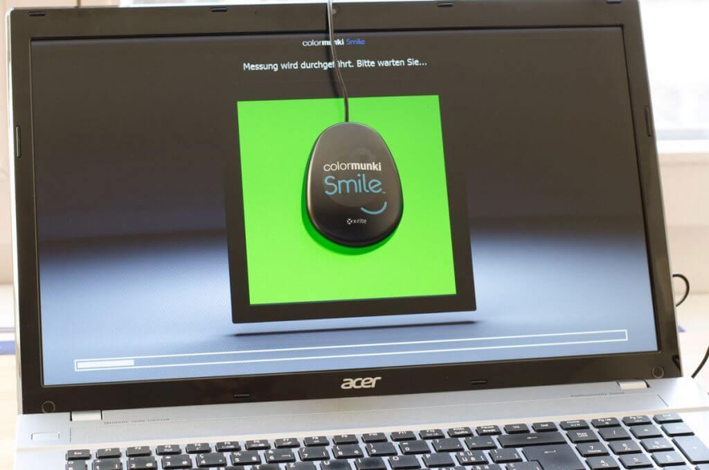 Bildschirm kalibrieren erfolgt automatisch
