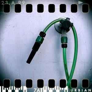 RetroCamera-App Gartenschlauch The Pinhole