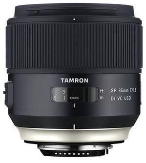 Tamron SP 35mm f/1.8 Di VC USD mit Bildstabilisator - Festbrennweiten