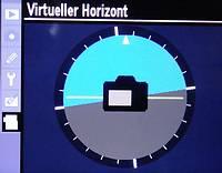 den virtuellen Horizont ausrichten
