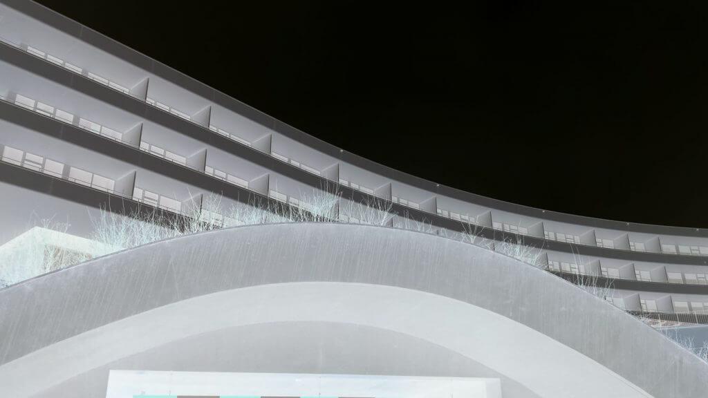 Architektur mit Negativ-Effekt