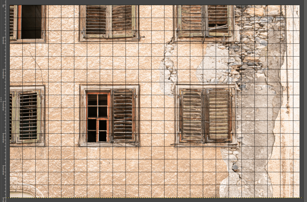 Perspektive korrigiert in GIMP