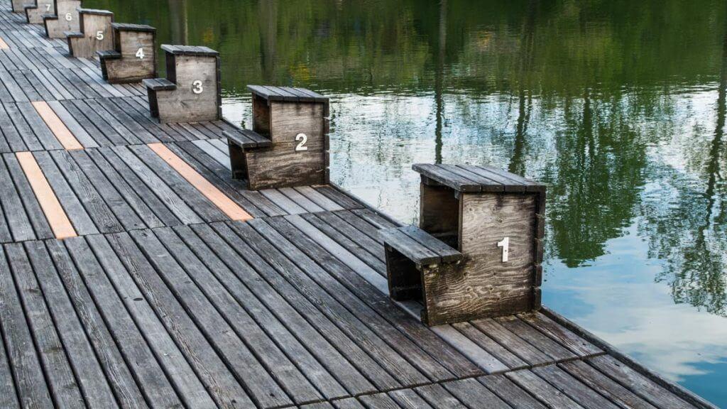 Tiefenwirkung erzeugen - Drei Weiern St. Gallen