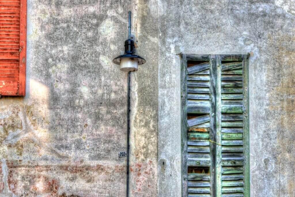 Altstadtfassade in Locarno