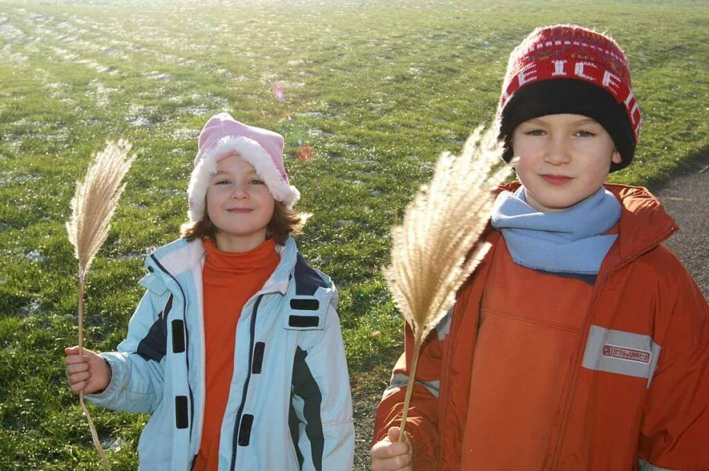 Kinderfoto im Gegenlicht mit Aufhellblitz - Aufhellblitzen