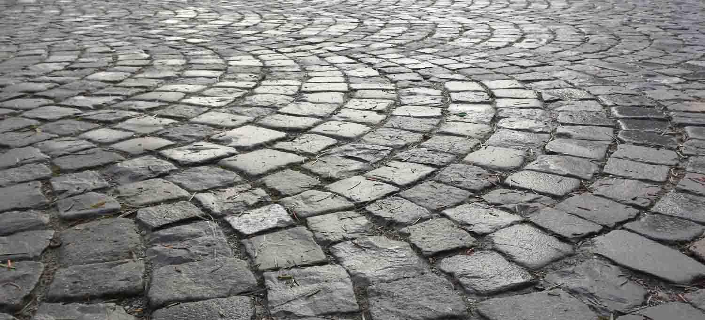 Bodenstrukturen mit Smartphone fotografiert