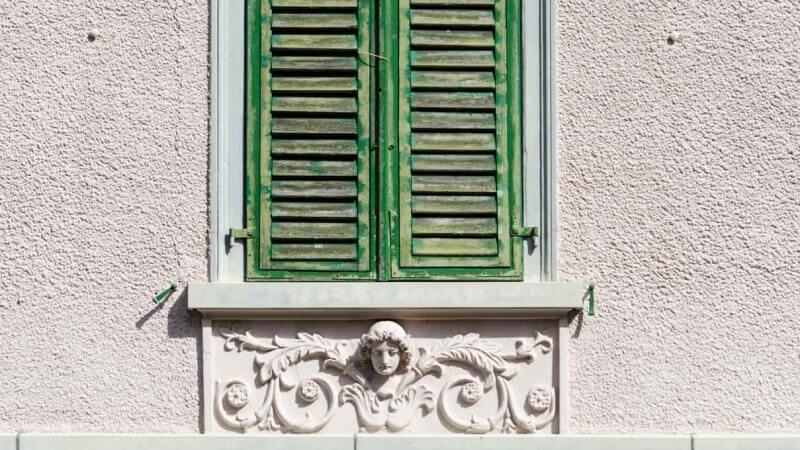 Digitale Fotografie - Fenster an Häuserfront