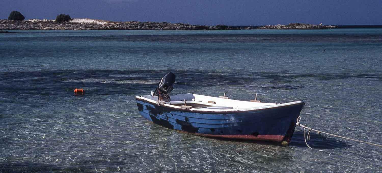 eingescanntes Diapositiv - auf der Insel Kreta