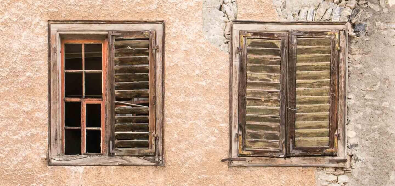 Fenster in der Altstadt von Sargans