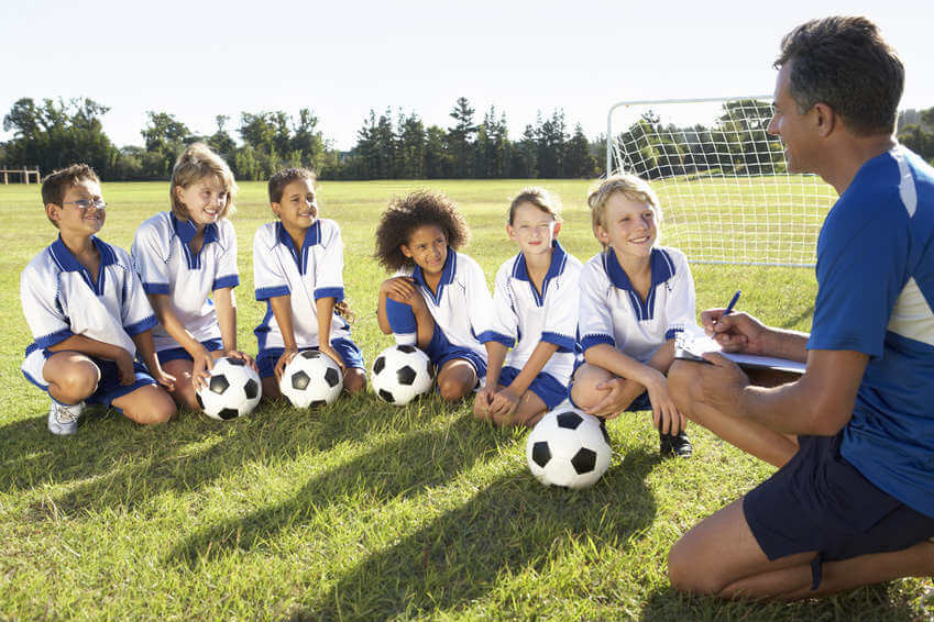 Kinder beim Sport fotografieren