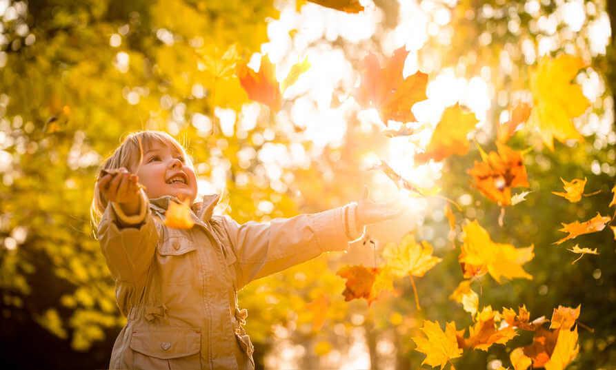 Kinder im richtigen Moment fotografieren - Gegenlicht