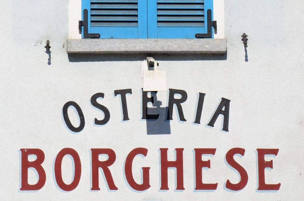 Osteria Borghese Locarno