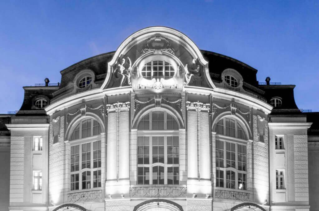 Tonhalle St. Gallen - Selektive Schwarzweissbilder mit Lightroom