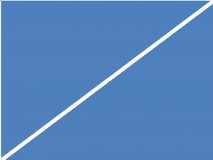 Wirkung einer Diagonale 4:3