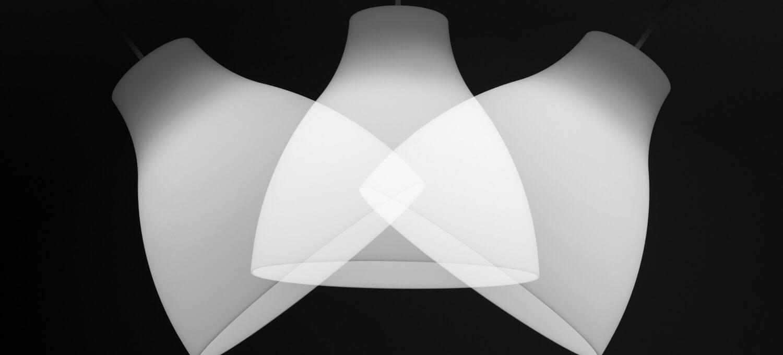 Mehrfachbelichtungen Deckenlampe