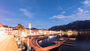Pseudo HDR erstellen - Ascona by Night Korrektur +1.33 EV