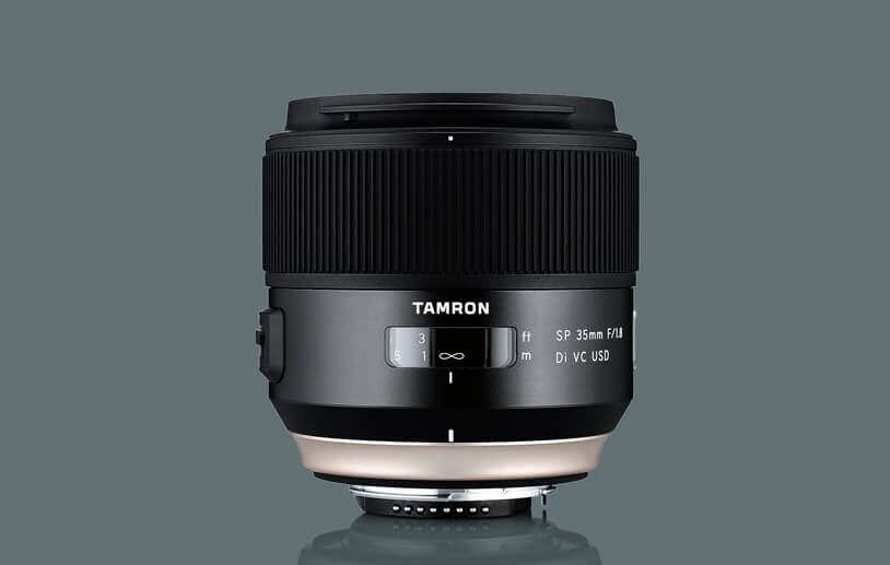 Tamron SP 35 mm f/1.8 Di VC USD