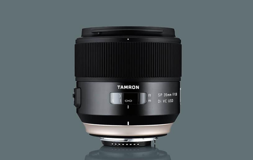 Tamron SP 35 mm f/1.8 Di VC USD