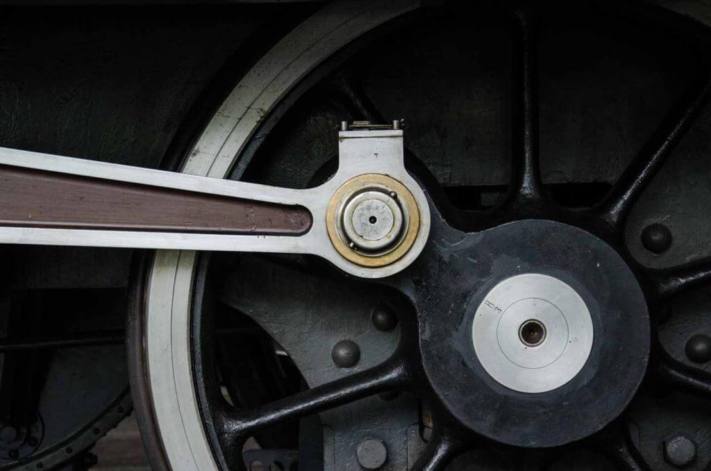 Low Key Aufnahme Lokraddetails