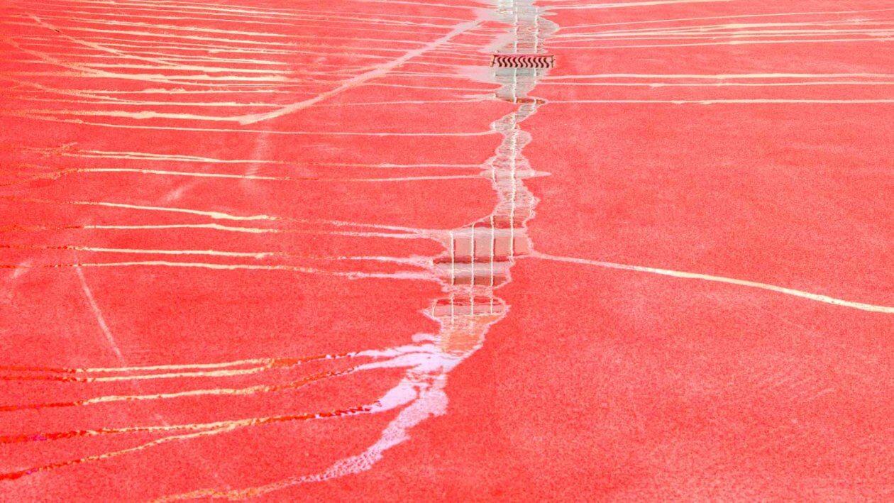 Mit einem 35 mm Objektiv fotografieren Roter Platz St Gallen