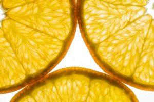 Orangen im Durchlicht fotografieren