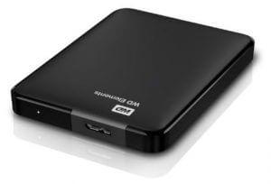 Western Digital 1TB Festplatte - Datensicherung von Fotos
