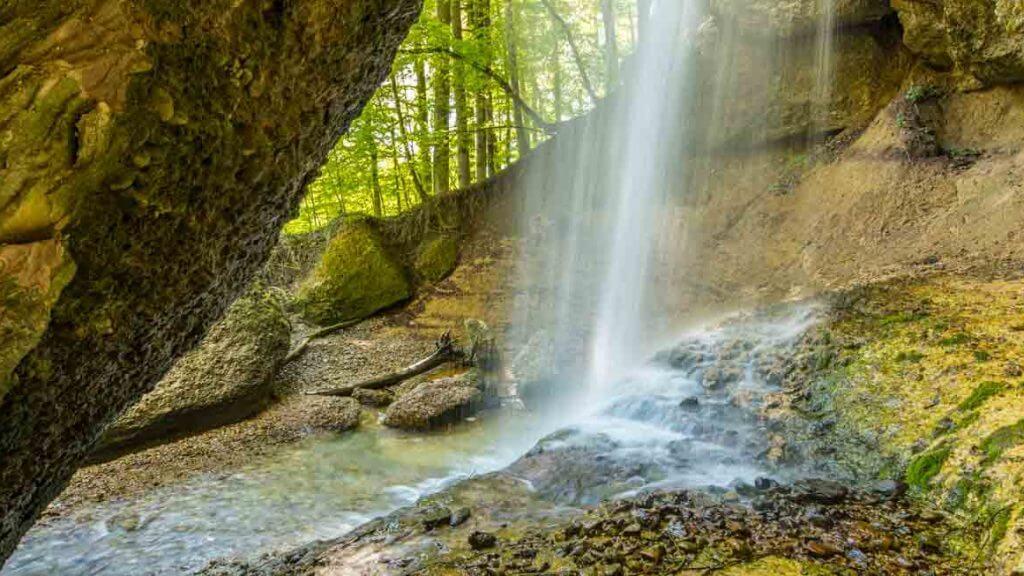 Wasserfall Äuelischlucht