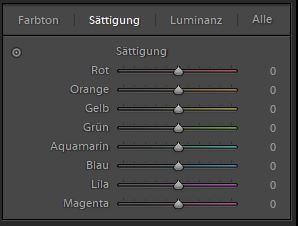 HSL Farben anpassen