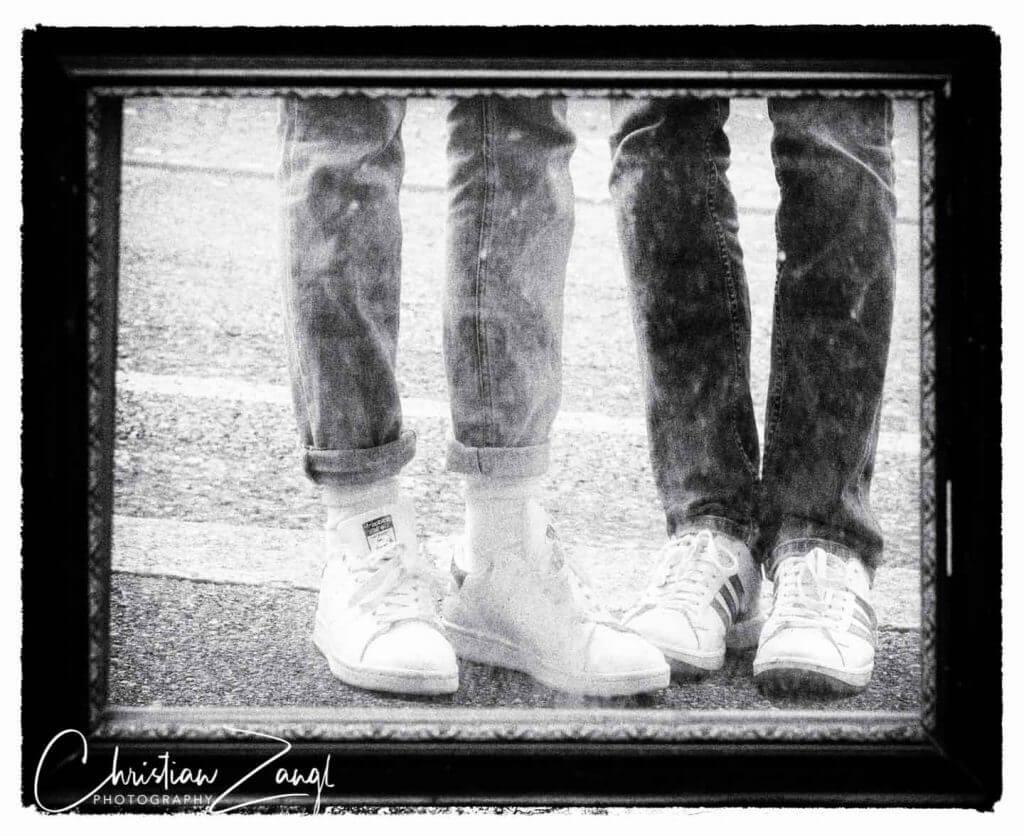 Spiegelbild im Bild