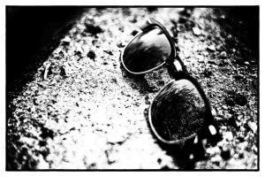 verlorene Sonnenbrille