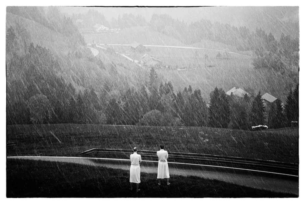 ungemütliches Morgenwetter im Bregenzerwald