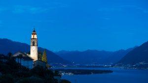 Ronco sopra Ascona am Lago Maggiore - unbearbeitet