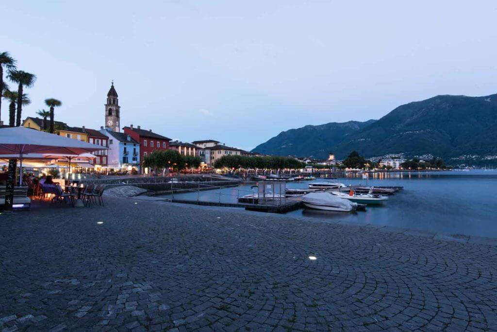 Seepromenade von Ascona