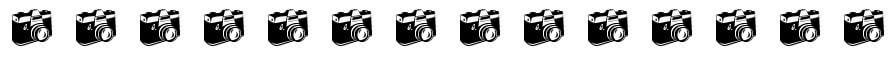 Fotoapparate Trennlinie Grafik