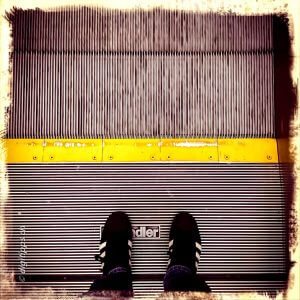 FromWhereIStand Rolltreppe