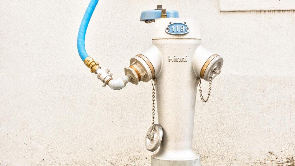 Technik als Motiv - Hydrant