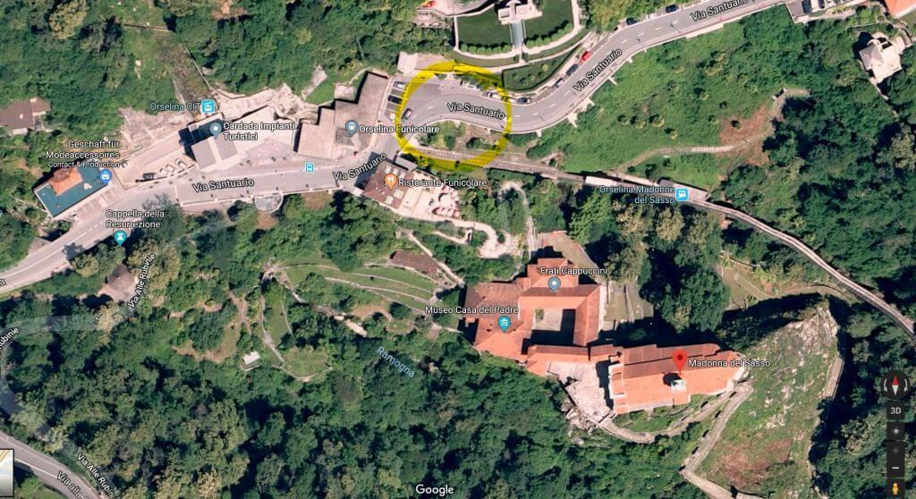 Aufnahmeort mit Street View suchen Madonna del Sasso Orselina