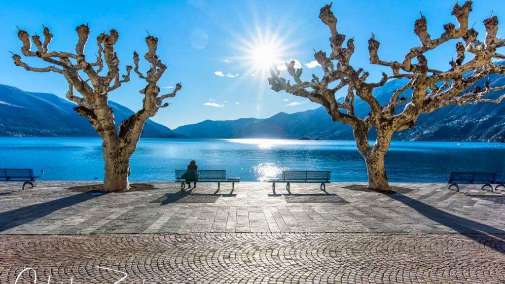 Bildwinkel - Seepromenade Ascona
